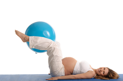 yoga ball for pregnancy floor exercises