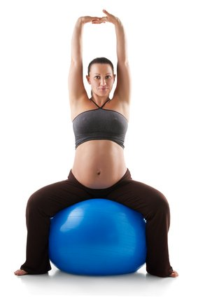 Yoga Ball Workout In Pregnancy